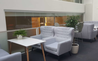 A new working environment for a great company to work in!